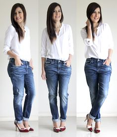 chic stret shoes jeans tana rendon232