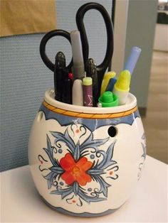 Repurpose your old Scentsy warmers!