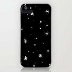Dream of Stars iPhone & iPod Case by Cally Creates, also available as prints, cushion/throw pillow, outdoor pillow, clock, cards, laptop skin, ipad case, tote bag, mug.