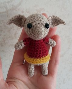 A little amigurumi elf. Free crochet pattern on Ravelry
