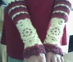 Cosmic Crafts: Things to Do with Granny Squares: Arm Warmers