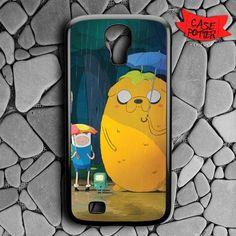 Jake And Finn Totoro Samsung Galaxy S4 Black Case