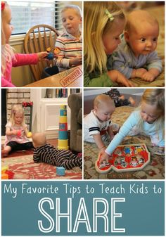 Toddler Approved!: My Favorite Tips to Teach Kids To Share