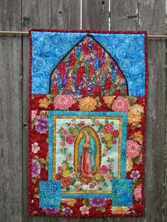 Inspiring! Our Lady of Guadalupe Prayer Quilt by PalomaBlancaStudios on Etsy