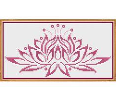 Water Lily - Counted Cross Stitch Pattern (X-Stitch PDF)
