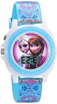 Disney Watch Frozen Elsa Princess Theme Quartz Water Resistant Girl Students Children Bangle Watches Strong Resistance To Heat And Hard Wearing Children's Watches
