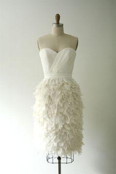 Image of Ruffle My Feathers Dress- White