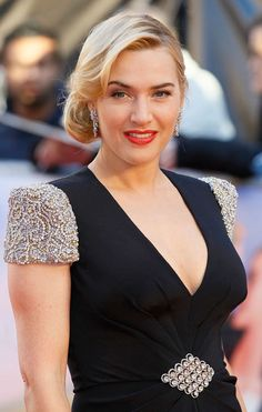 Kate Winslet Hair At the Titanic 3D Premiere