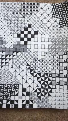 Zentangle, doodles