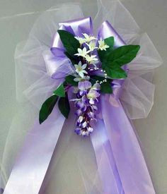 These traditional bows are still elegant they make a splash without these traditional bows are still elegant they make a splash without the expense of purchasing large floral arrangements wedding pinterest large junglespirit Image collections