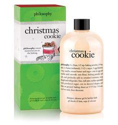 christmas cookie | shampoo, shower gel & bubble bath | philosophy new!