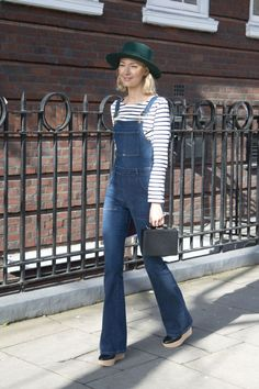 Roberta Benteler. See 49 more stars' take on the striped shirt, a style staple that like the white button-down and perfect-fit skinnies will never go out of style.