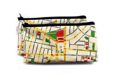 I LOVE TLV map wallet / Pencil case by efratul on Etsy, $12.00