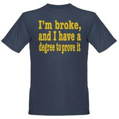 Im broke! Organic Men's T-Shirt (dark) > I'm Broke > Malarkey Pie - geeky t-shirt goodness