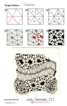 Image result for zentangle patterns patience jodi genovese