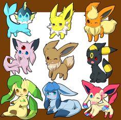 Eevee and friends