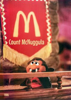 Dracula, Ronald Mcdonald, Count, Chicken, Commercial