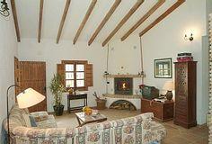 Álora villa rental - Casa Los Olivos - Sitting room