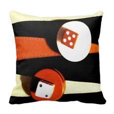 Backgammon Pillow