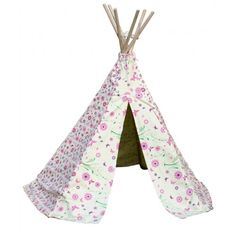 Flower and Butterfly Wigwam