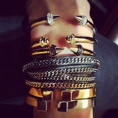 Edgy and fun arm party