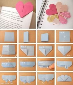 Bookmark - 23 Cute and Simple DIY Home Crafts Tutorials