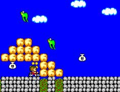 Alex Kidd in Miracle World - Master System - 1986