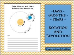 This is a great activity to complete during your Earth Science unit on understanding Days, Months, and Years as well as the concepts on Rotation and Revolution.  The illustration makes a great visual resource for your students to help with greater understanding.Save $1.00 on the BUNDLE of 3 Notepages for Earth Science at:BUNDLE Earth Science Note Pages