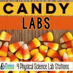 Halloween Science: Candy LabsI am so excited to bring you Halloween Candy Labs, a product perfect for Halloween science.  These labs reinforce upper elementary physical science concepts.Labs Included:Candy Corn Properties: Students determine the physical state, mass, relative density, volume, and solubility of a piece of candy corn.  (You can also choose physical properties and type them on the editable page.) Chocolate-y Conductivity: Students determine which candy wrapper best prevents…