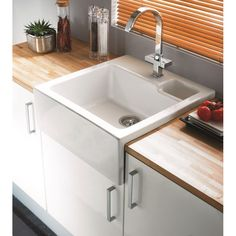 Clearwater Berlioz 60 Belfast Sink Apron Front + Waste Kit - East Coast Kitchens & Bedrooms Ltd