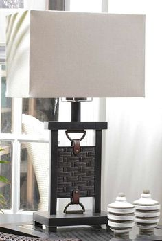 Extend the evening with the Summer Classics Buckle Outdoor Lamp