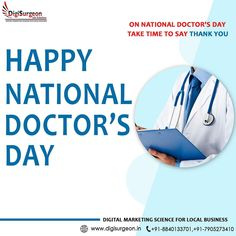 National Doctors Day, Best Digital Marketing Company, Are You Happy, Science, Ads, Twitter, Business, Google, Life