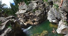 Punch Bowl!! My friends and I are up here at least 3 times a week during the summer. A great place to take a plunge and cool off. You will see many high schoolers and locals up here in the summer. It is a place to be and see!! Come up...visitors welcome!