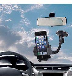 Araç Telefon Tutucu 360 Derece Dönebilir Vantuzlu