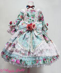 【受注商品】Queen Rose Princess Dress Set