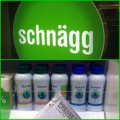 Spiralps Raw #Spirulina Drink at #Schnägg #Zürich #City #Enge #Stadelhofen www.schnägg.ch #Spiruline #Bio Switzerland