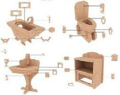 Resultado de imagen para como hacer una casa de muñecas