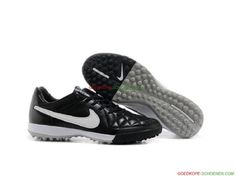 competitive price b3aa5 ae92c Goedkope Nike Tiempo Legend V TF – Zwart Wit Online Winkel