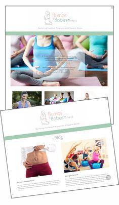 Web designed by JacciR Design for www.bumpstobabes.co.za #webdesign #website #webdesigner #prenatal #postnatal #fitness  #prenatalfitness #postnatalfitness Prenatal Workout, Header Image, Web Design, Website, Instagram Posts, Fitness, Design Web, Website Designs