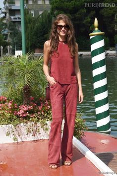 #Look. #Elisa Sednaoui : beauté divine à Venise, un look à copier !