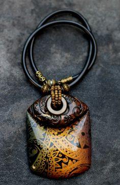 Таня Майорова-украшения из полимерной глины.