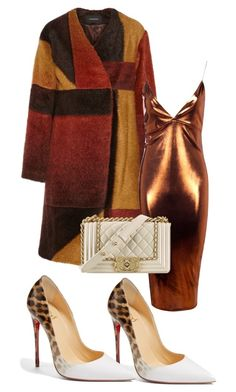 """A la chic"" by belanda-dee on Polyvore featuring Christian Louboutin, Thakoon, Boohoo and Chanel"