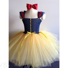 The Love Snow White Princess Tutu Dress will enchant everyone when your daughter wears it to any party or special family gathering. #princessbabydress