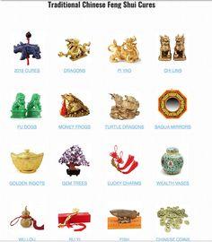 Feng shui lucky symbols