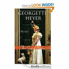 Sophy sets everything right for her desperate family in one of Georgette Heyer's most popular Regency romances. daily deals 12/26 1.99, whispersync 1.99 and a little dog on the cover!
