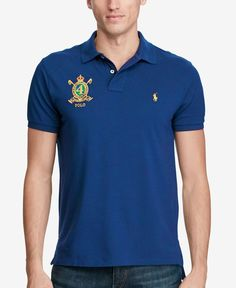 Polo Ralph Lauren Men's Classic-Fit Featherweight Mesh Polo, Only at Macy's