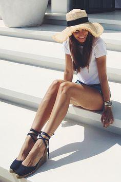 Pin for Later: Espadrille-Wedges sind DER Schuh des Sommers