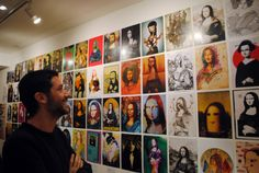 Gioconda Project Exhibition - W3 gallery London Mona Lisa, Photo Wall, London, Gallery, Frame, Projects, Home Decor, Picture Frame, Log Projects