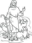 good shepherd art - AOL Image Search Results