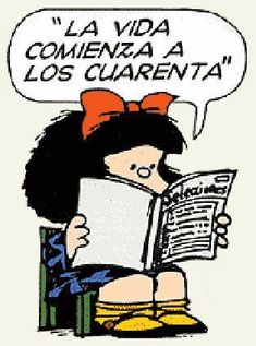 Mafalda 40 años
